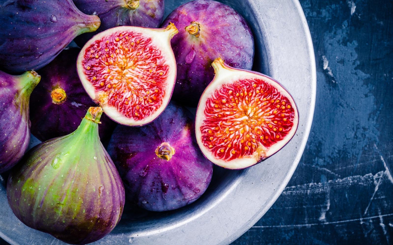 Vegan fresh figs