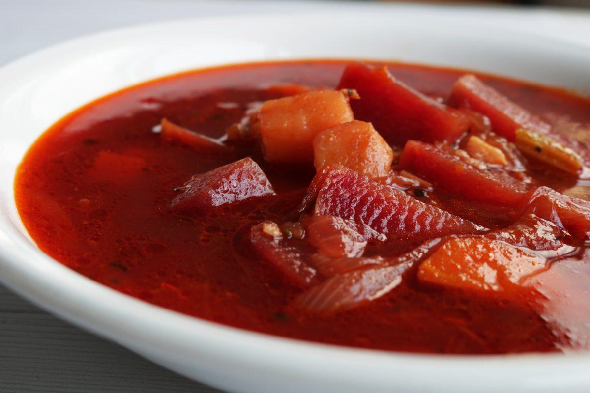 Earthy Beetroot Soup