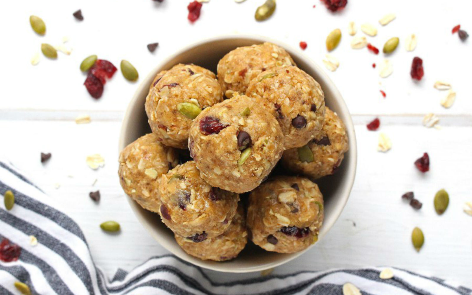 Vegan Trail Mix Energy Bites