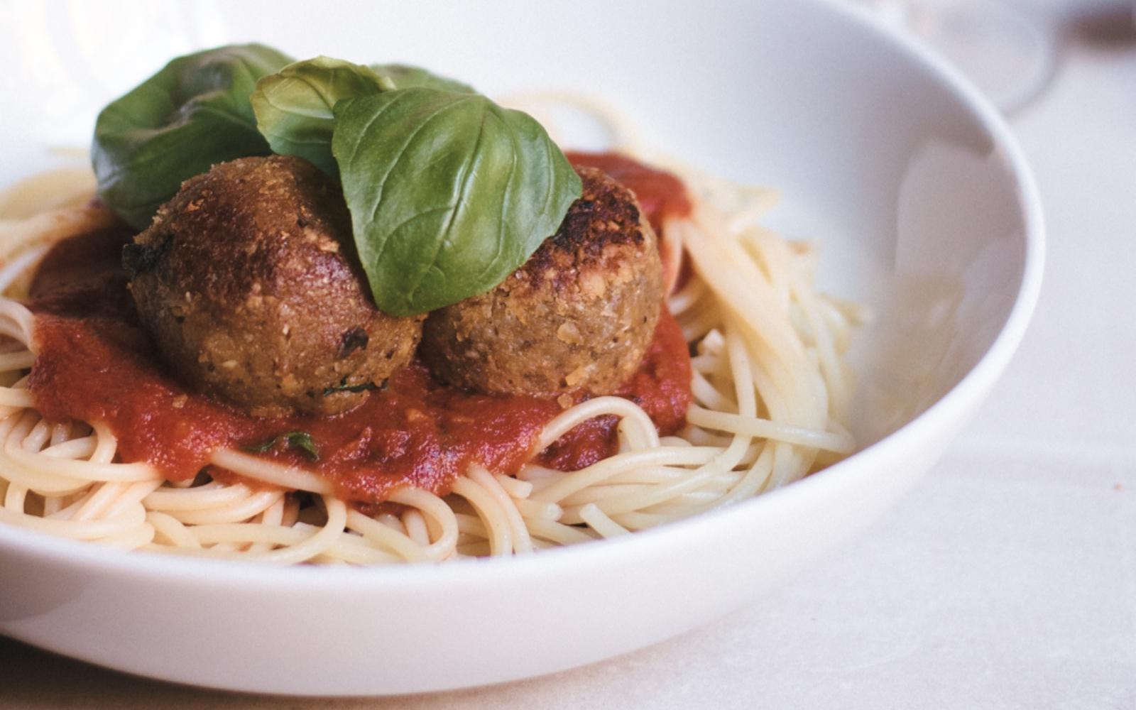 vegan gluten free italian meatballs