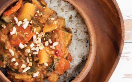 Vegan African-Inspired Peanut Stew