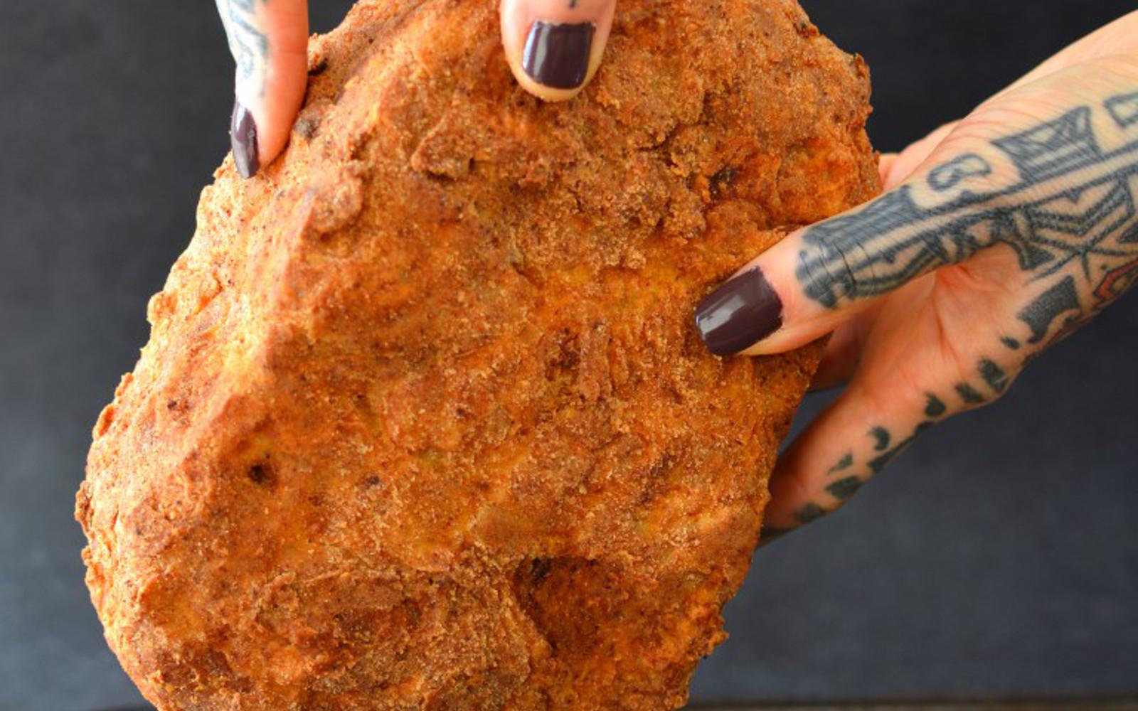 vegan Giant Chicken Nugget