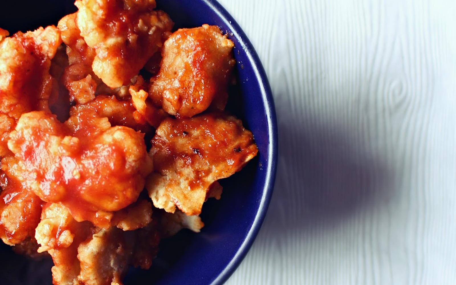 BBQ Cauliflower Vegan Wings