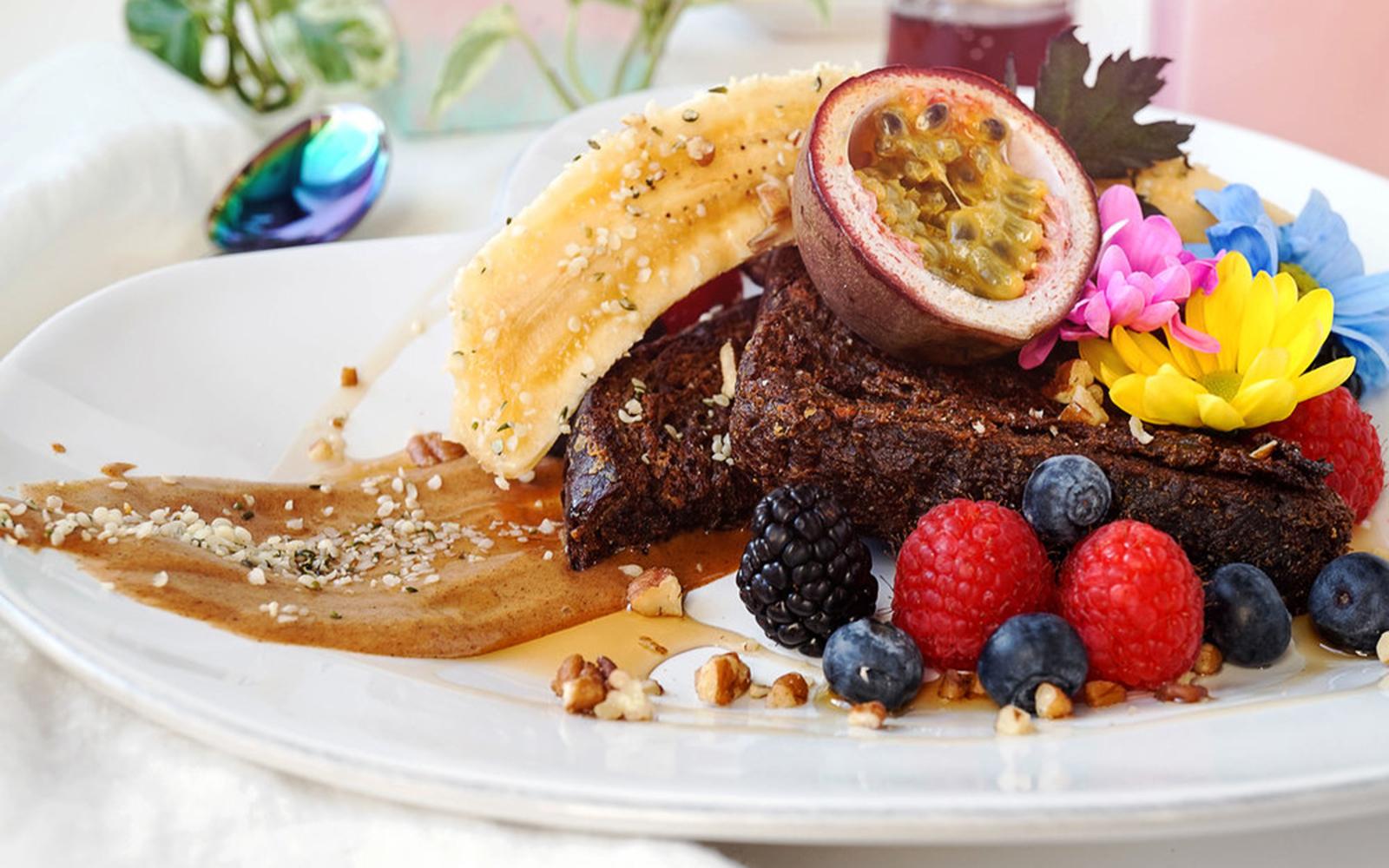 Vegan French Toast healing vegan meals