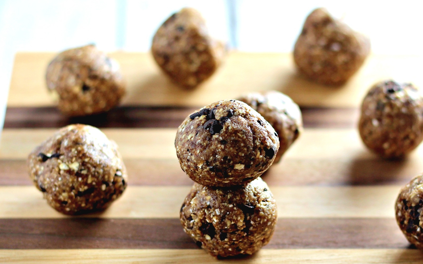 Chocolate Chip Date Balls