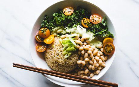 Green Thai Curry Rice Bowl