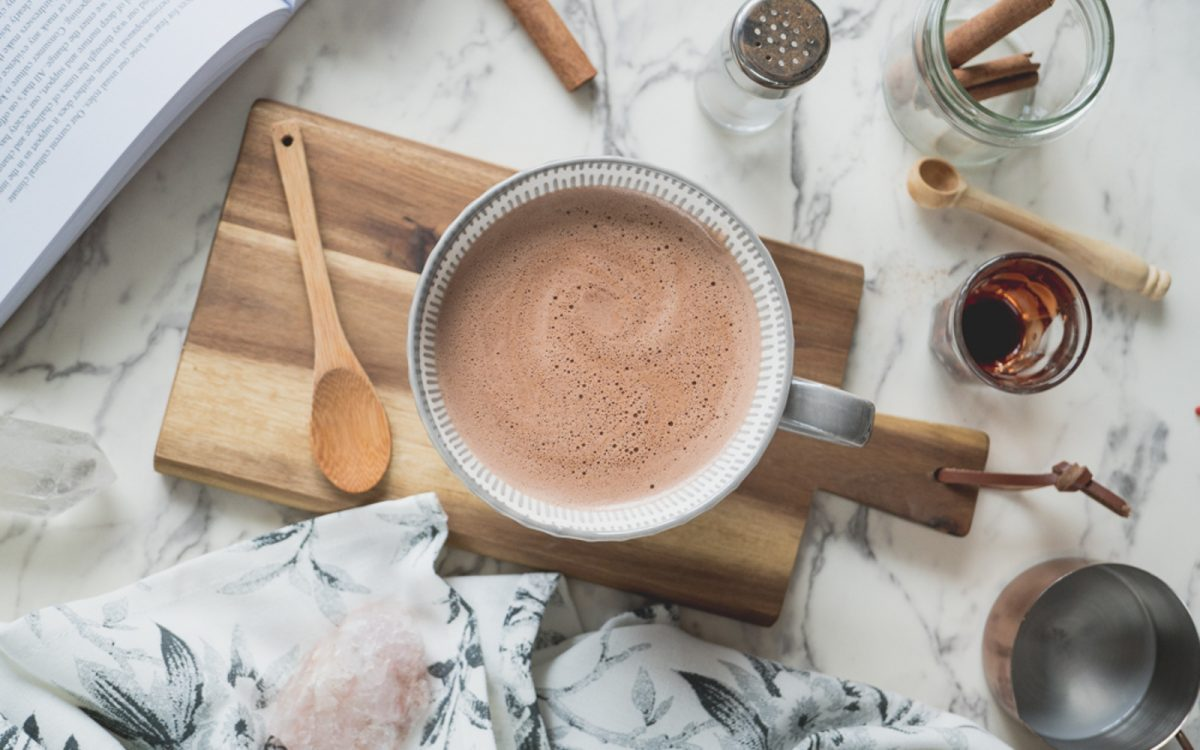 Hot Chocolate 'Macaccino'