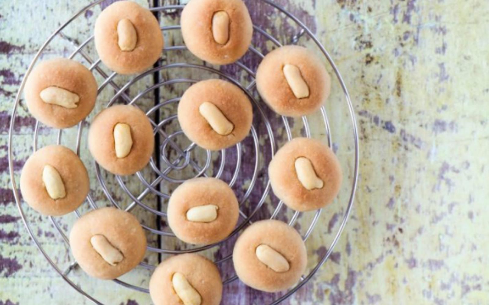 Vegan Gluten-Free Chinese New Year Peanut Cookies