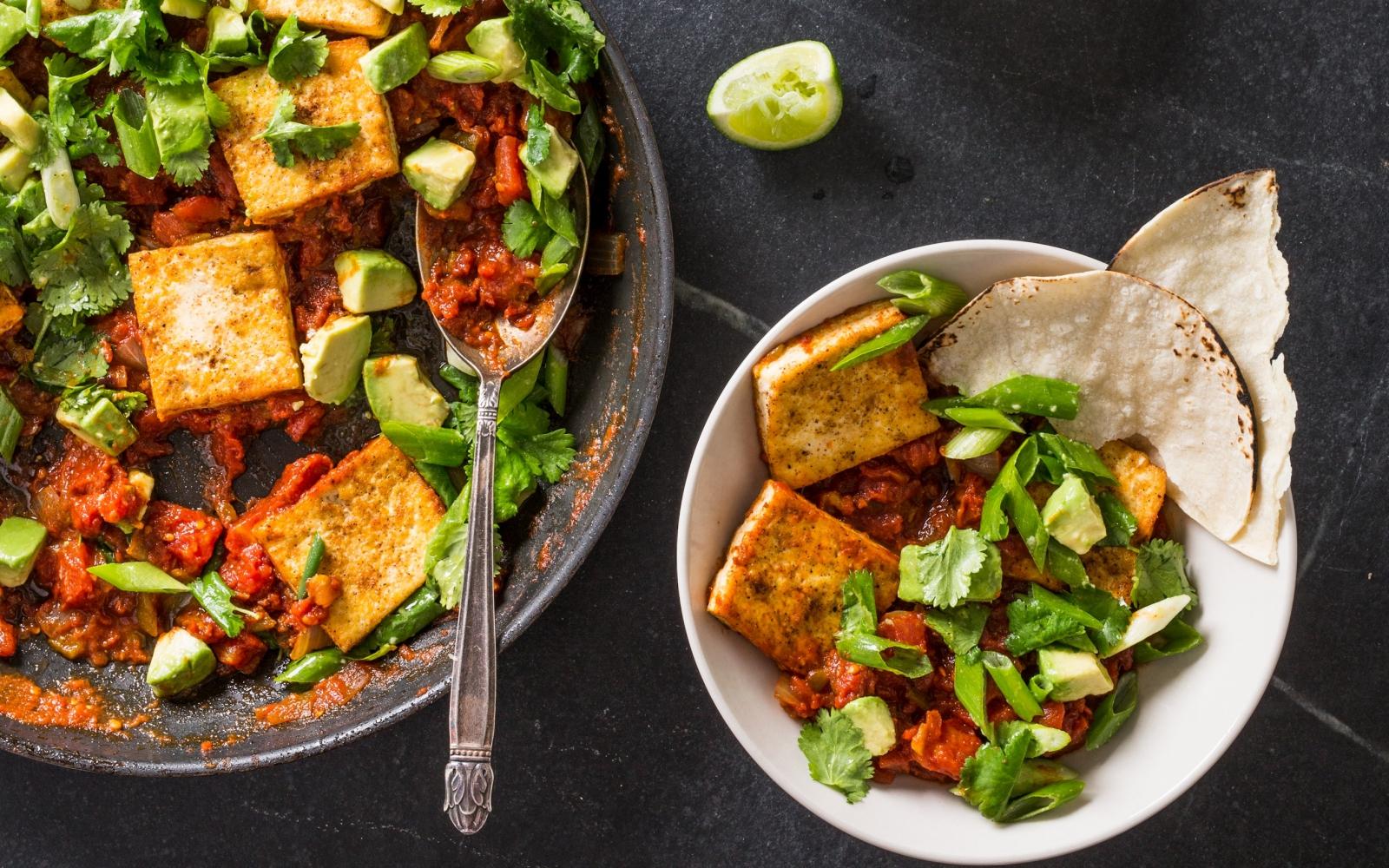 Vegan Tofu Rancheros