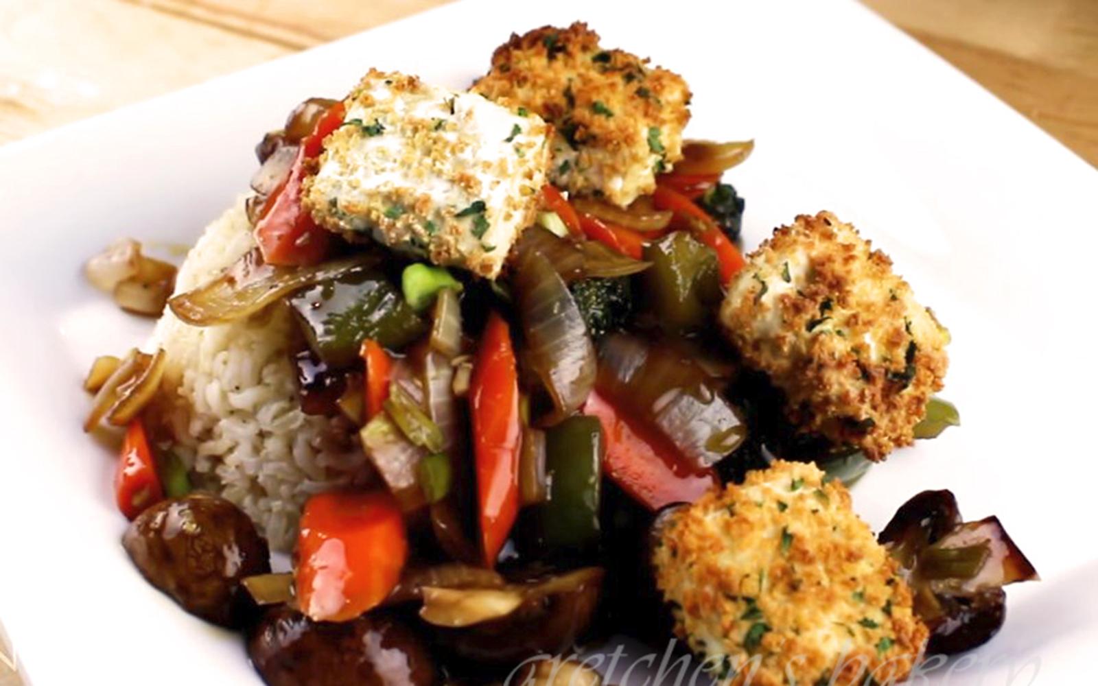 Crispy Tofu Vegetable Stir-Fry