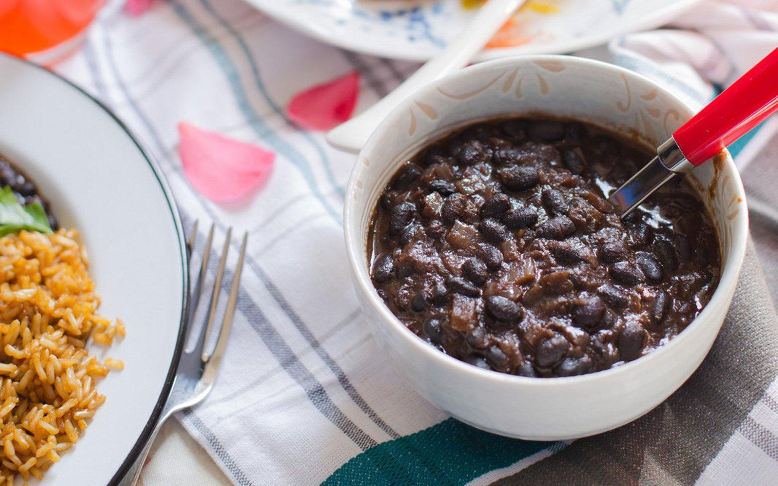 Brazilian Style Black Beans