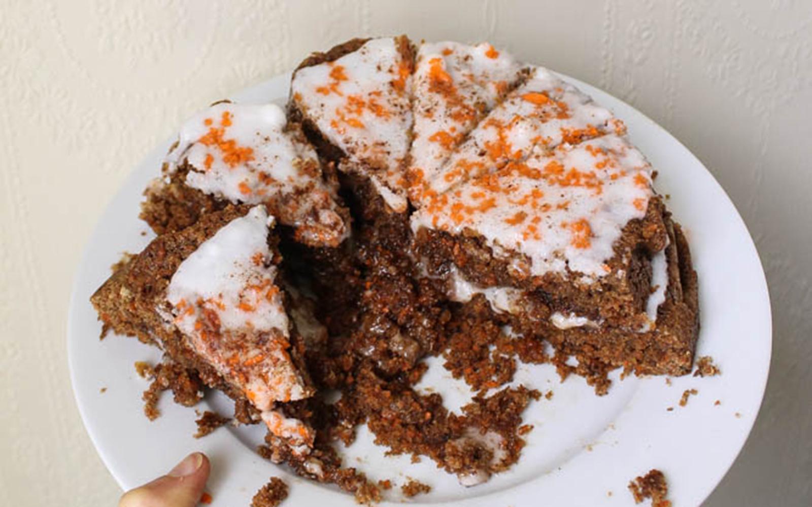 Iced Carrot Cake
