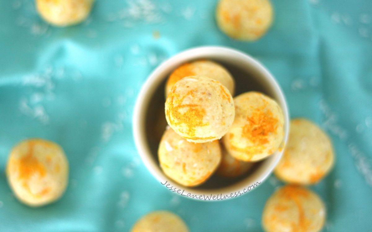 Orange Coconut Truffles