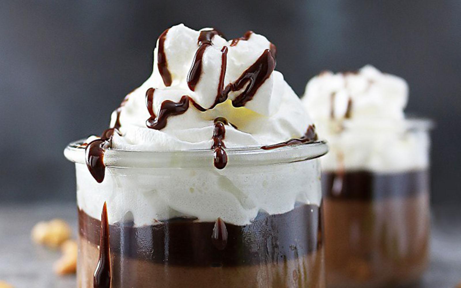 chocolate cashew pudding