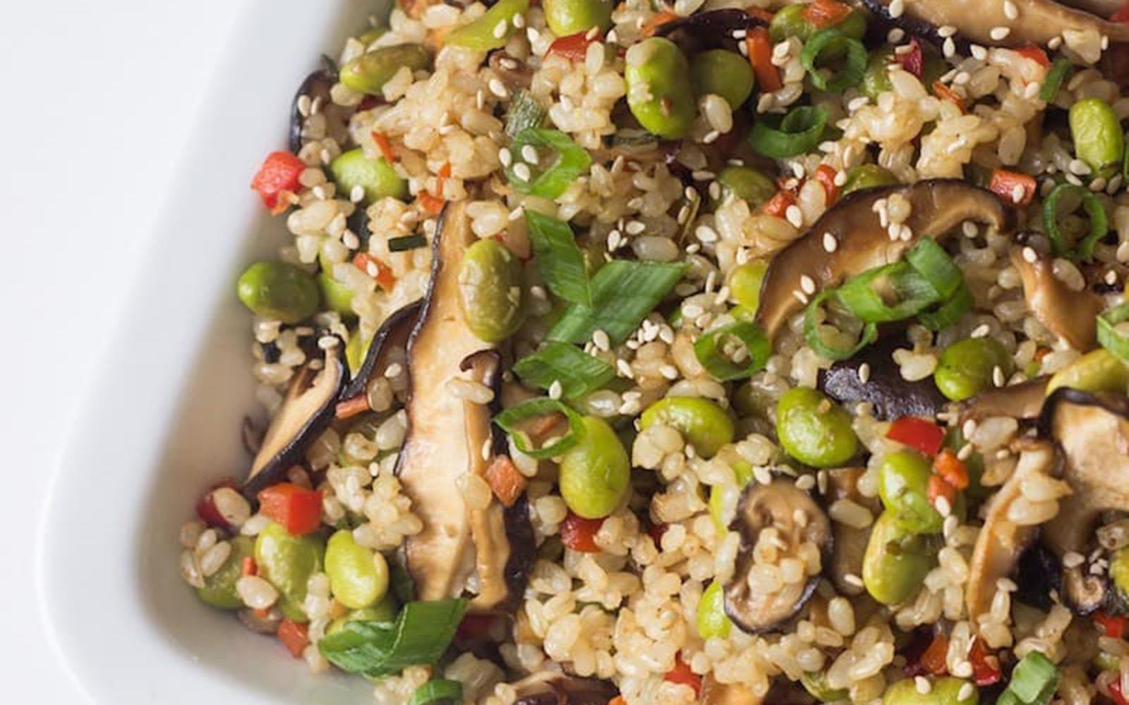 Fried Rice [Vegan]