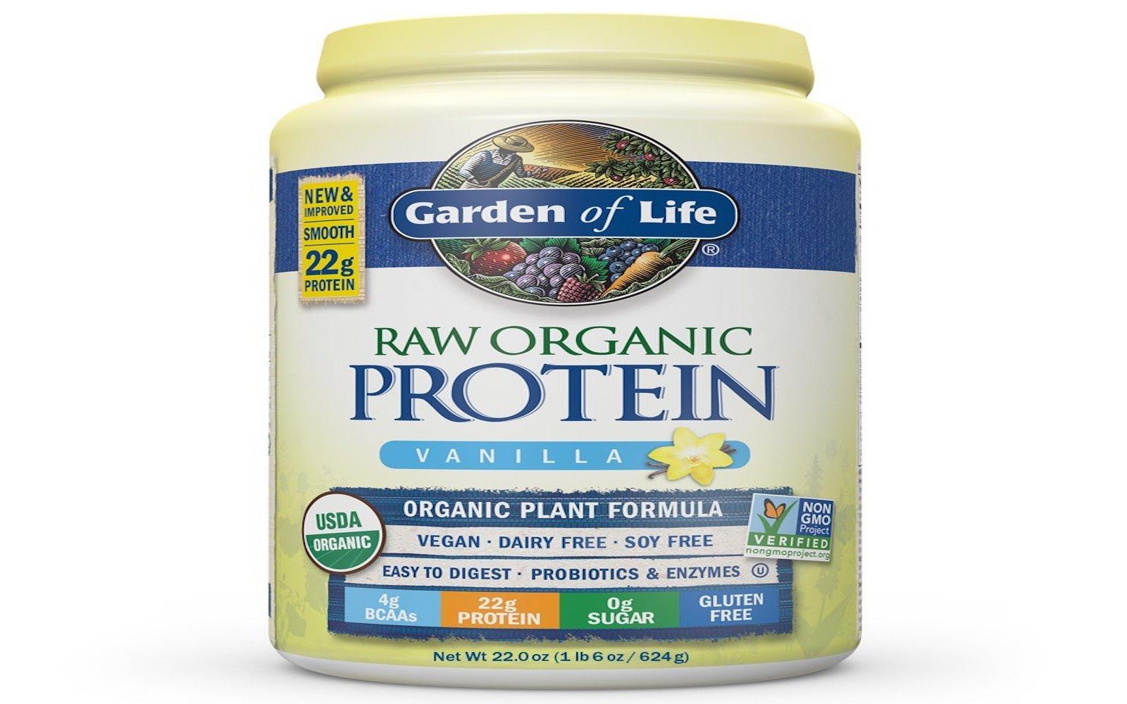 garden of life raw protein powder