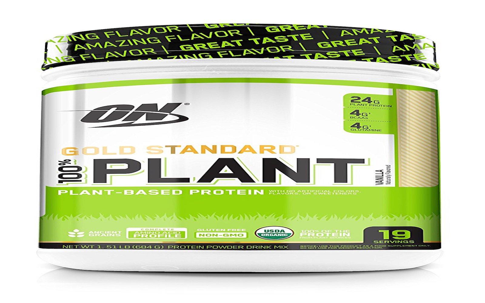 Optimum Nutrition Gold Standard 100% Organic Plant Based Vegan Protein Powder