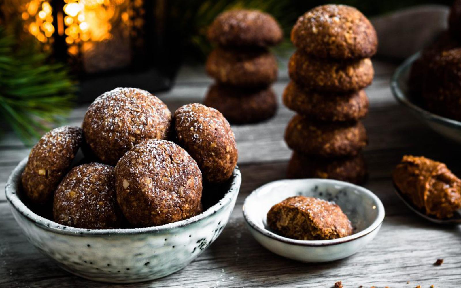 Teff Peanut Butter Cookies [Vegan, Gluten-Free]