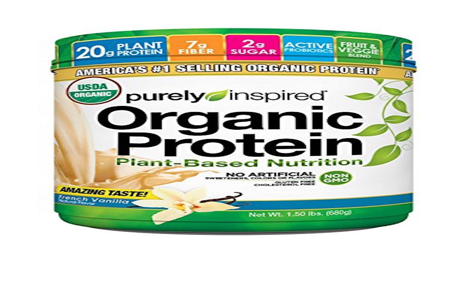 purely inspired organic protein vegan powder