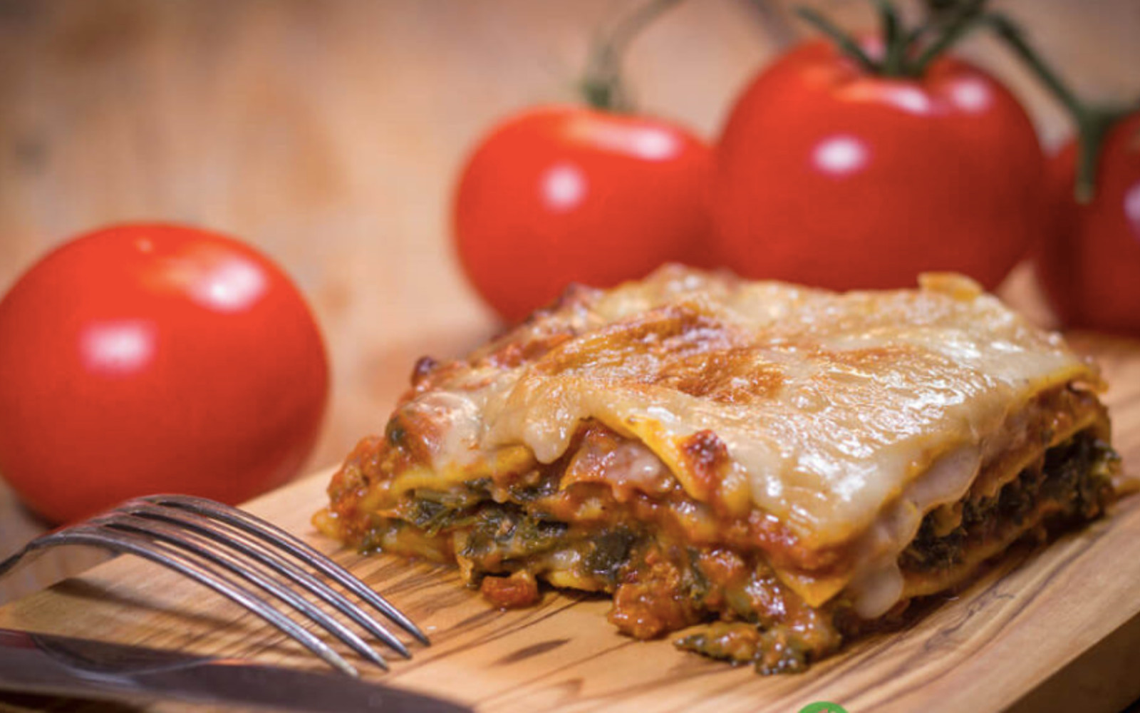 Vegan Gluten-Free Kale Lasagna with bechamel sauce