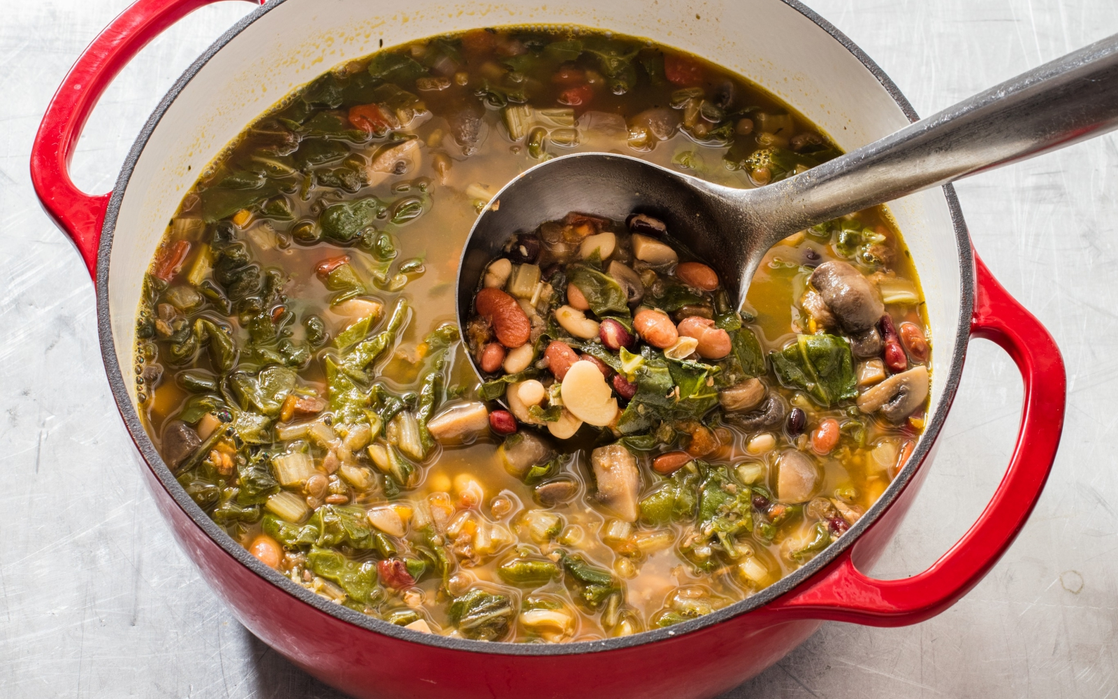 Vegan Heart 15 Minute Vegetable Soup