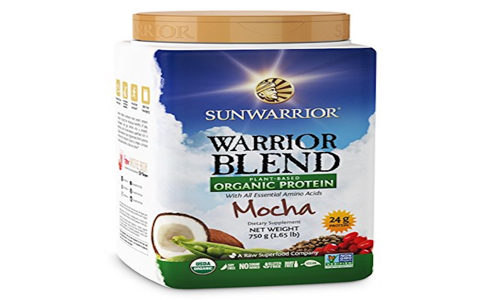 sunwarrior raw plant based protein powder
