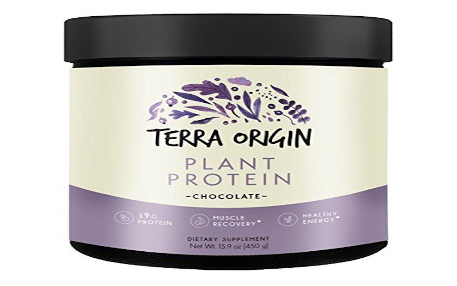terra origin vegan protein powder