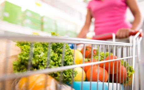 vegan grocery store shopping
