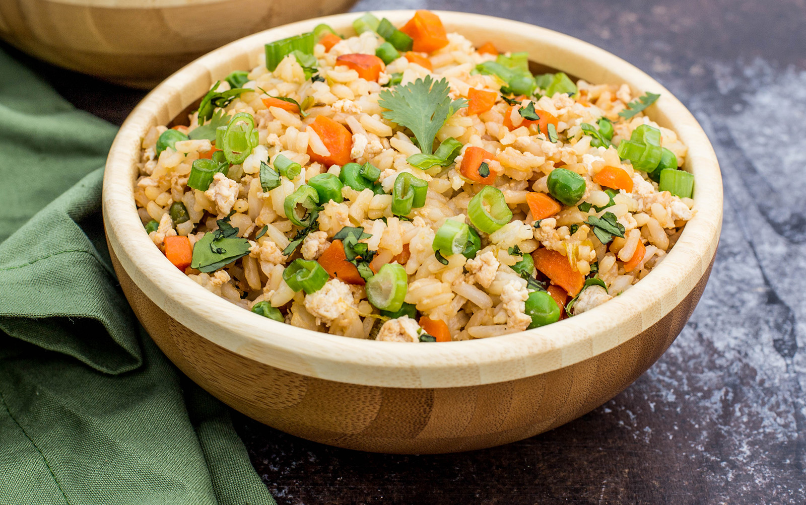 Vegan and gluten-free Simple Vegan Fried Rice
