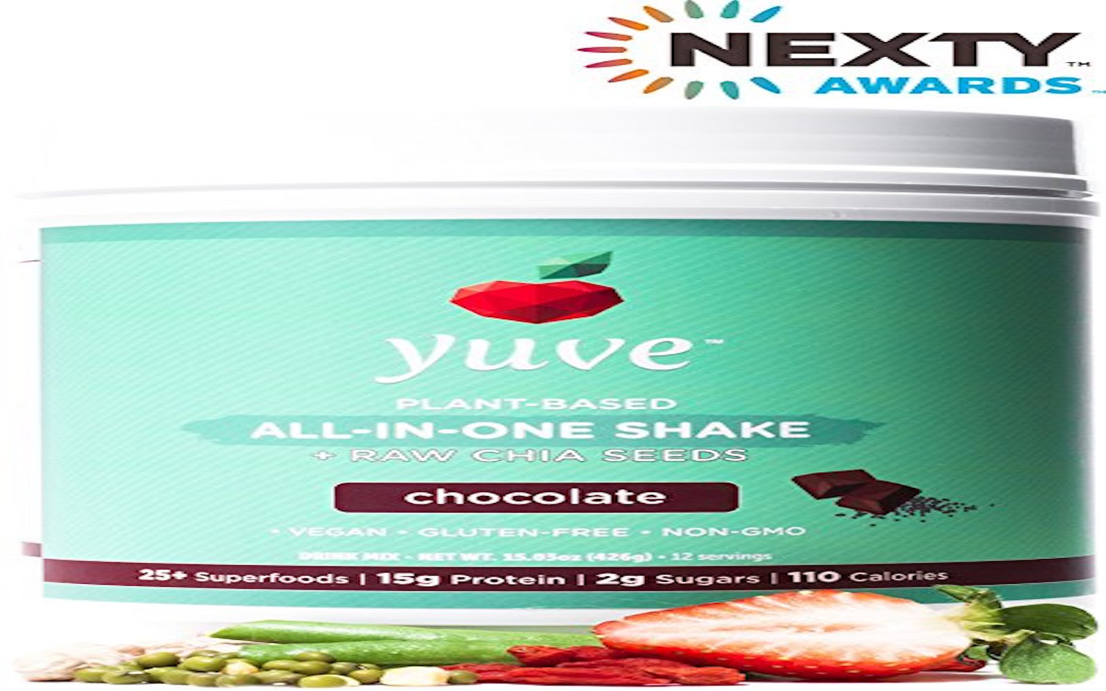 yuve vegan protein superfood powder