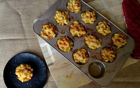 Vegan Baked Mac and Cheese Bites