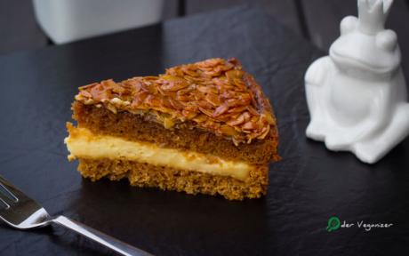 "Bee Sting: German ""Honey"" Almond Cake"