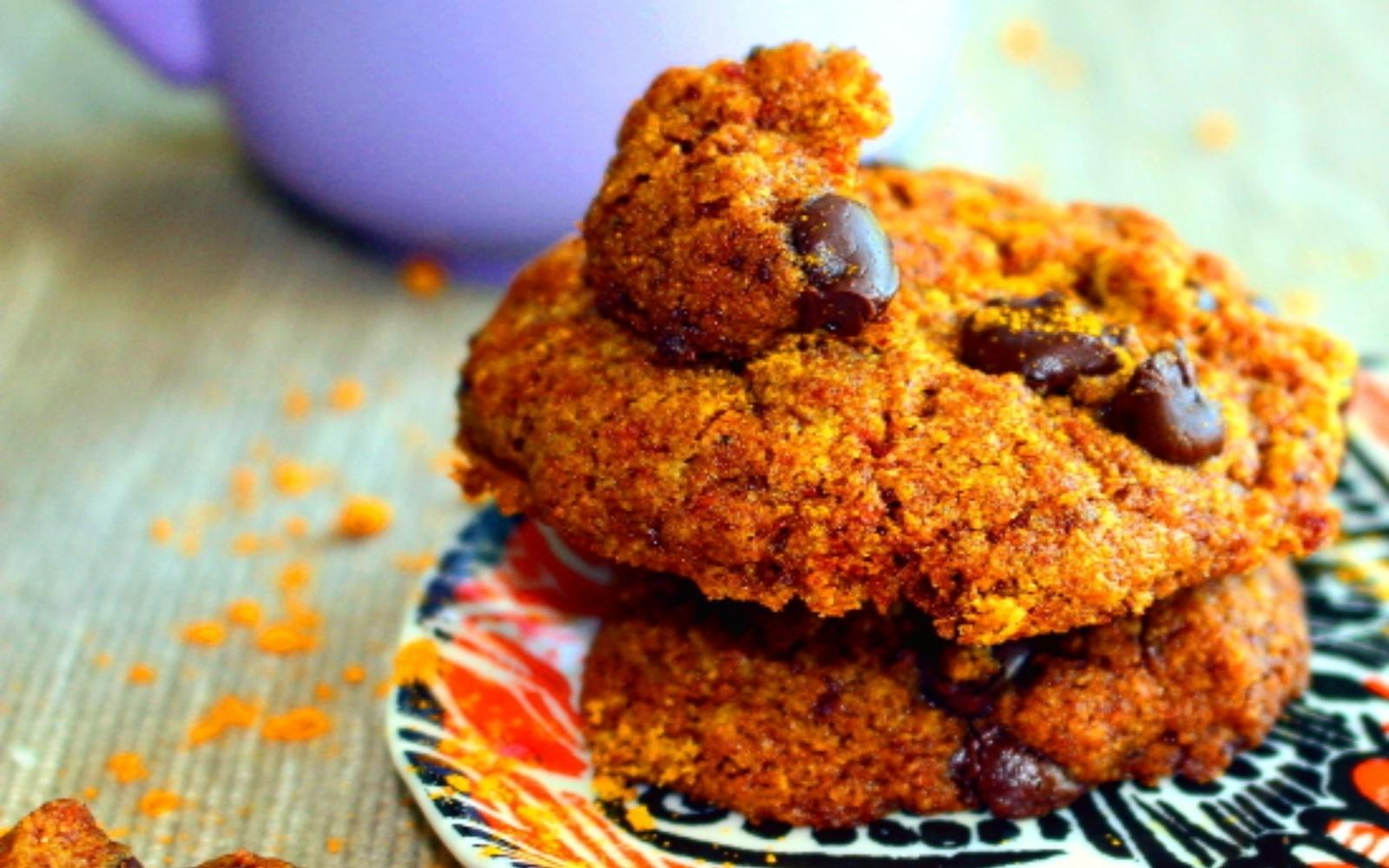 Tahini Turmeric Cookies