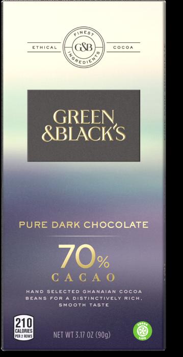 green and black dark cocoa