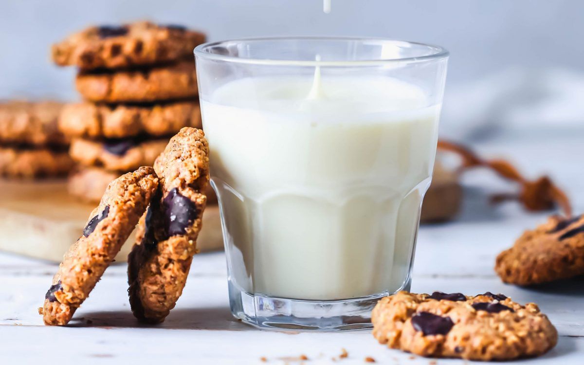 Chocolate Chip Almond Butter Cookies