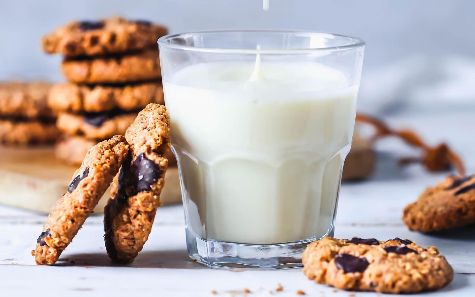 Chocolate Chip Almond Butter Cookies [Vegan, Gluten-Free]