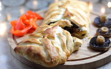 Vegan Maple Parsnip and Chestnut Wellington