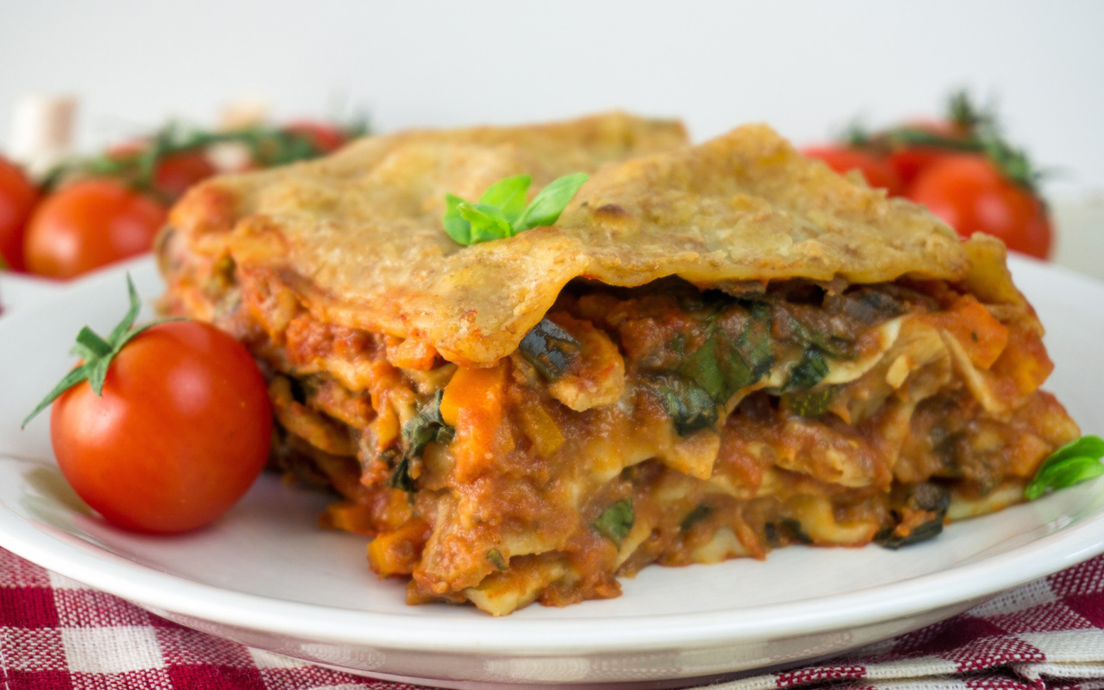 Pulled Soya Lasagna