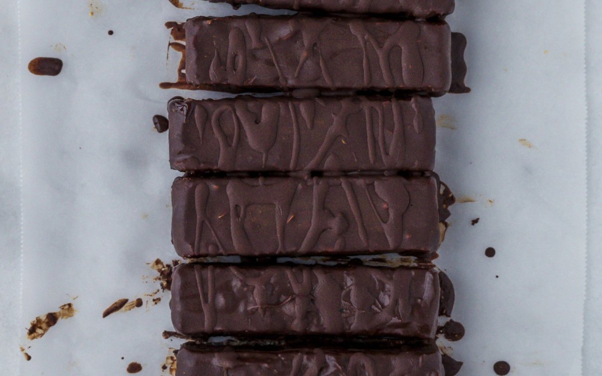 Healthy Copycat Snickers Bars