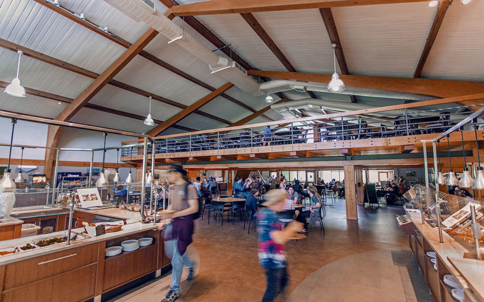 warren wilson campus vegan hall