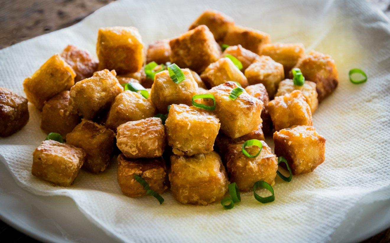 Vegan Crispiest Tofu