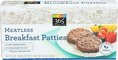 365 meatless breakfast patties