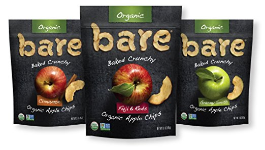 bare baked crunchy apple chips