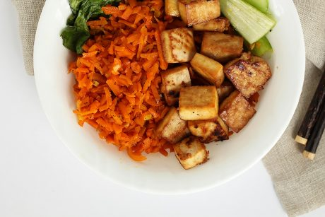 Asian ginger tofu