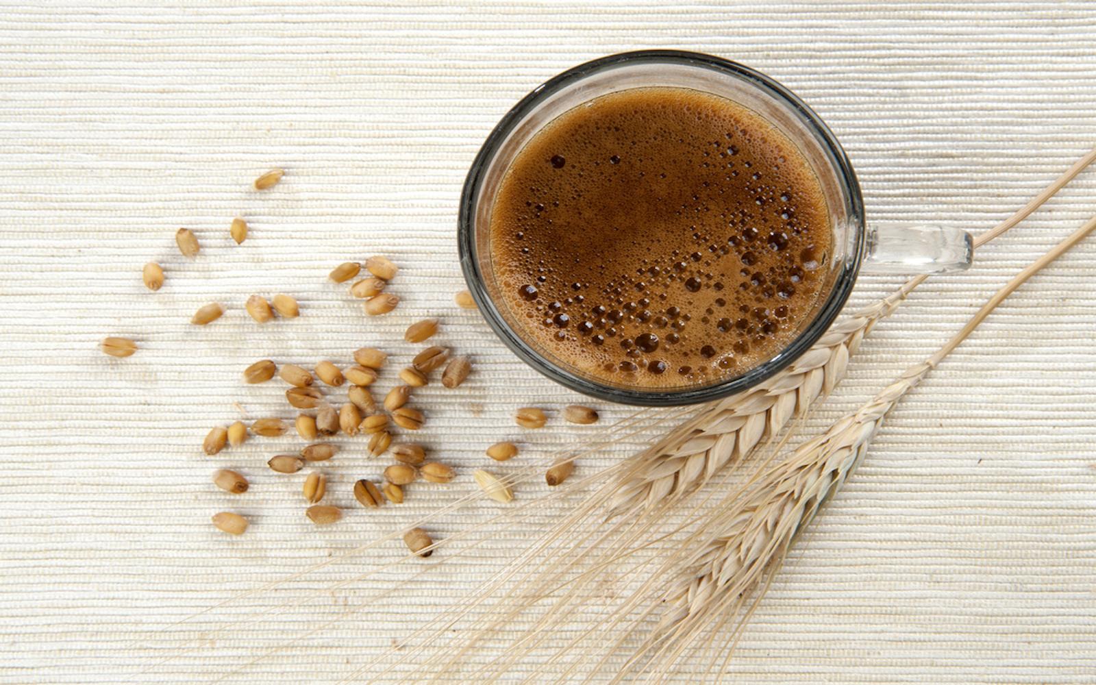 barley coffee vegan beverage