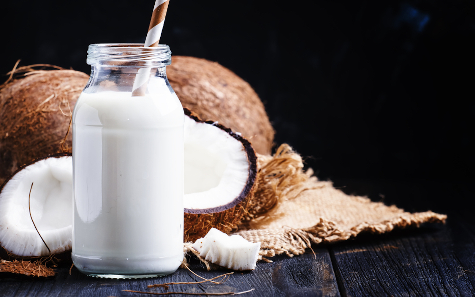 coconut milk vegan