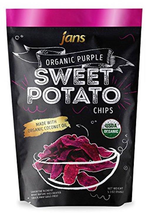 Organic Sweet Potato Chips