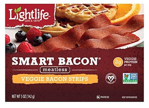 light smart bacon vegan
