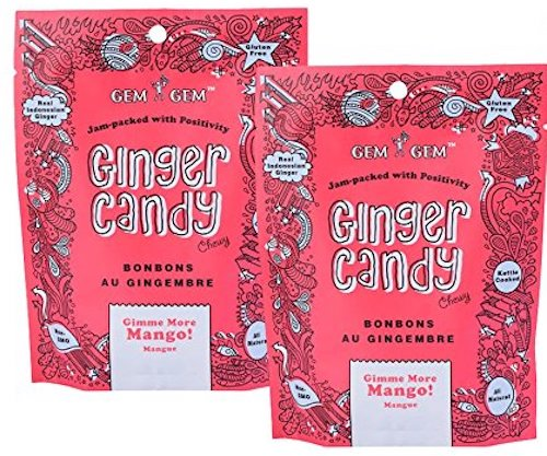 Ginger candy chews