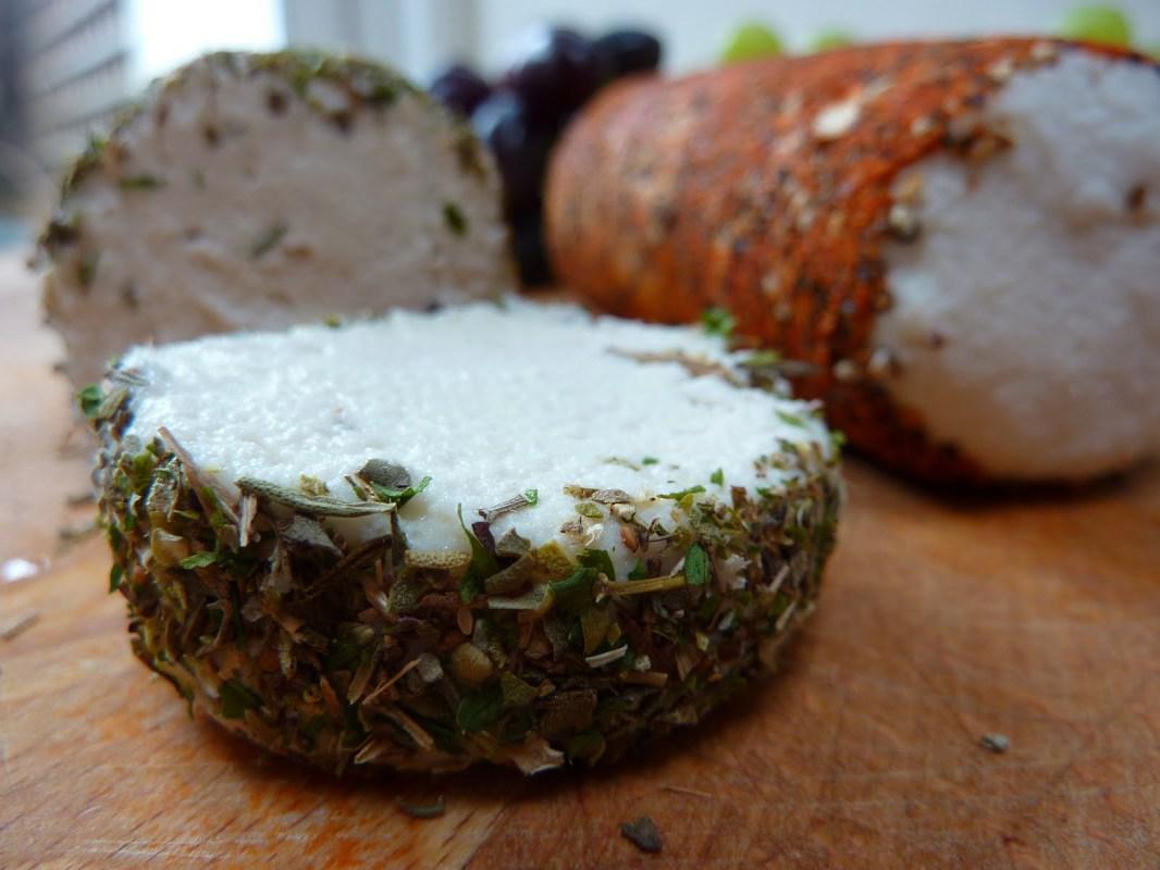 Raw Vegan Macadamia Nut Cheese